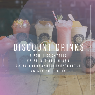 Discount Drinks Poster